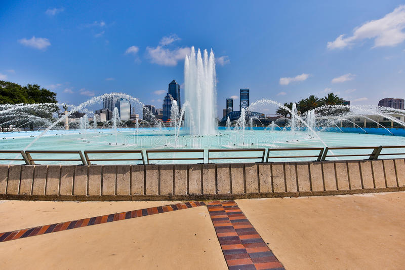 Jacksonville Waterfront royalty free stock photography