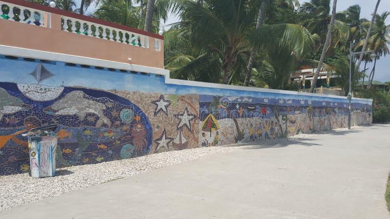Jacmel Haiti strand royaltyfria foton