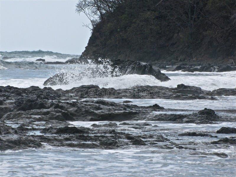 Jaco哥斯达黎加波浪 库存图片