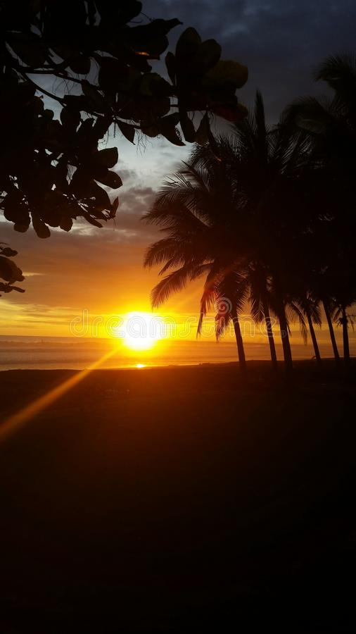Jaco Beach Costa Rica fotografie stock
