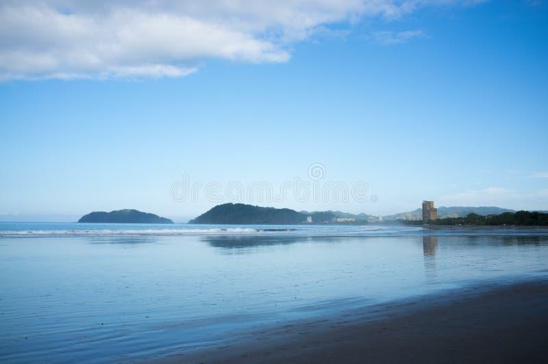 Jaco beach early morning royalty free stock photo