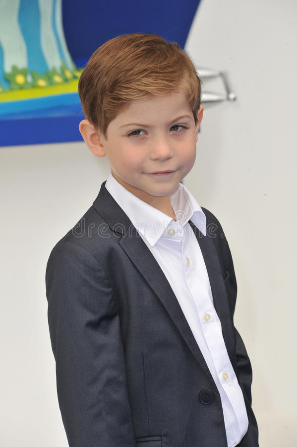 Jacob Tremblay lizenzfreie stockbilder