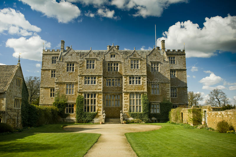 Jacobean Manor House. A Jacobean Manor House in England royalty free stock photography