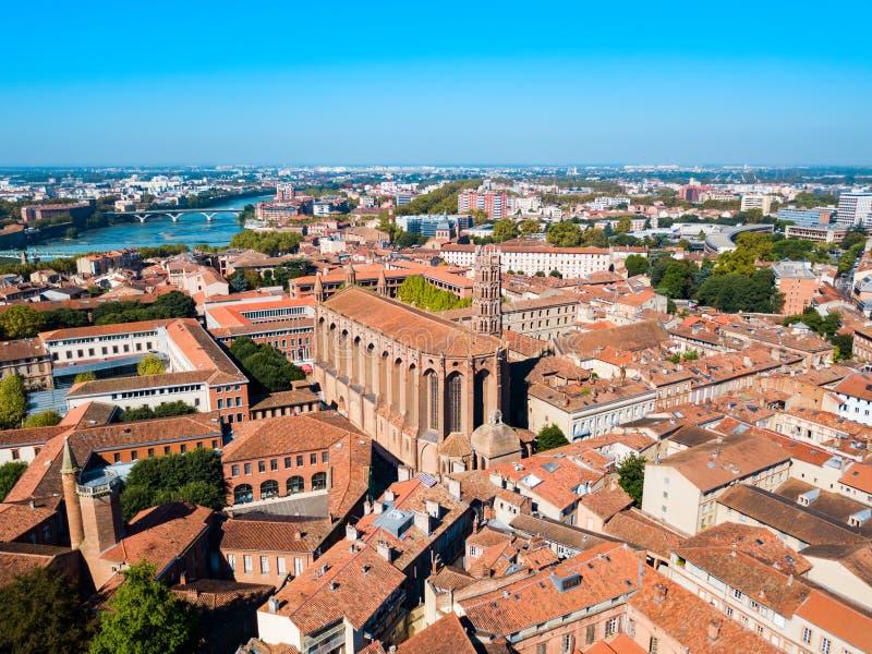Jacobins-Kirche in Toulouse, Frankreich stockfoto