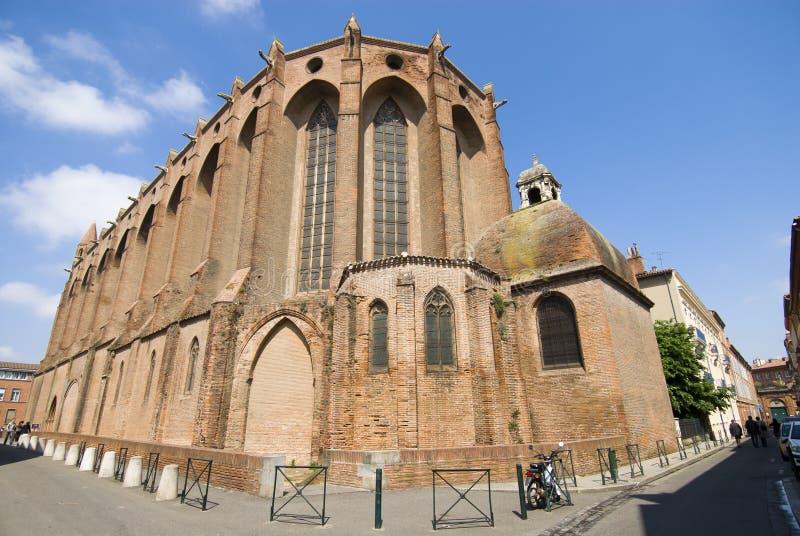 jacobins toulouse церков стоковые изображения rf