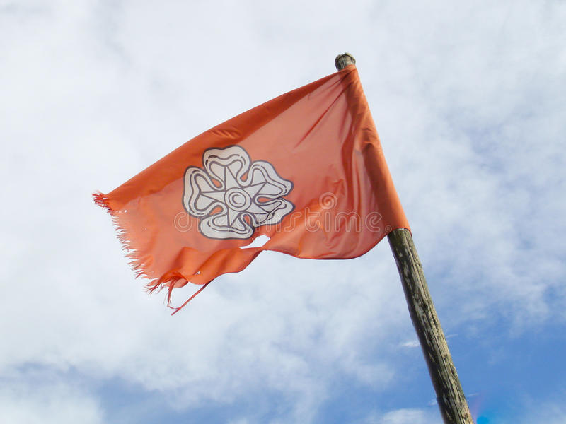 Jacobite flaga zdjęcie stock