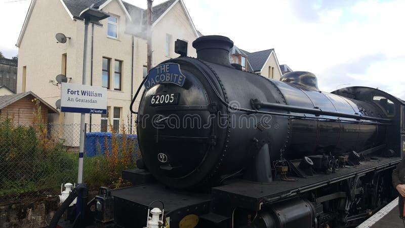 Jacobite Train royalty free stock photos