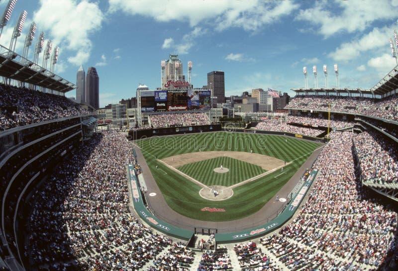 Jacobs Field, Cleveland, Ohio images libres de droits