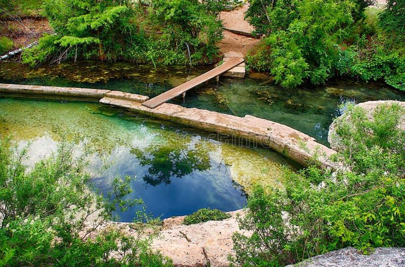 Jacobs Well, Wimberley, TX foto de archivo libre de regalías