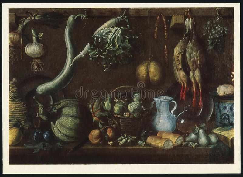 Jacopo da Empoli still Life royaltyfri fotografi
