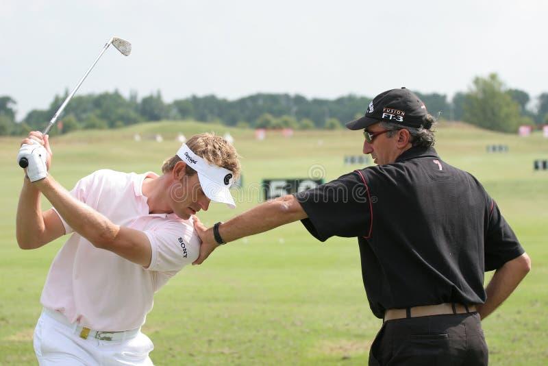 Jacquelin, Open de France 2006, golf National stock images