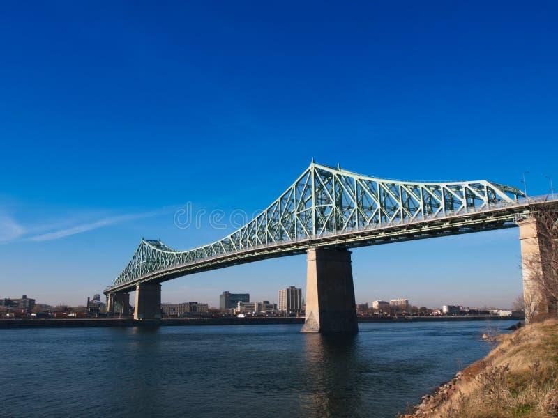 Jacques Cartier Bridge stock photo