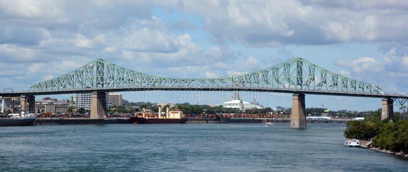 Jacques Cartier Bridge photographie stock