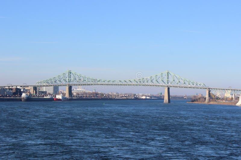 Jacques-Cartier Bridge lizenzfreie stockfotografie