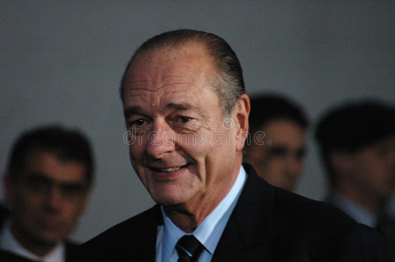 Jacques Chirac image libre de droits