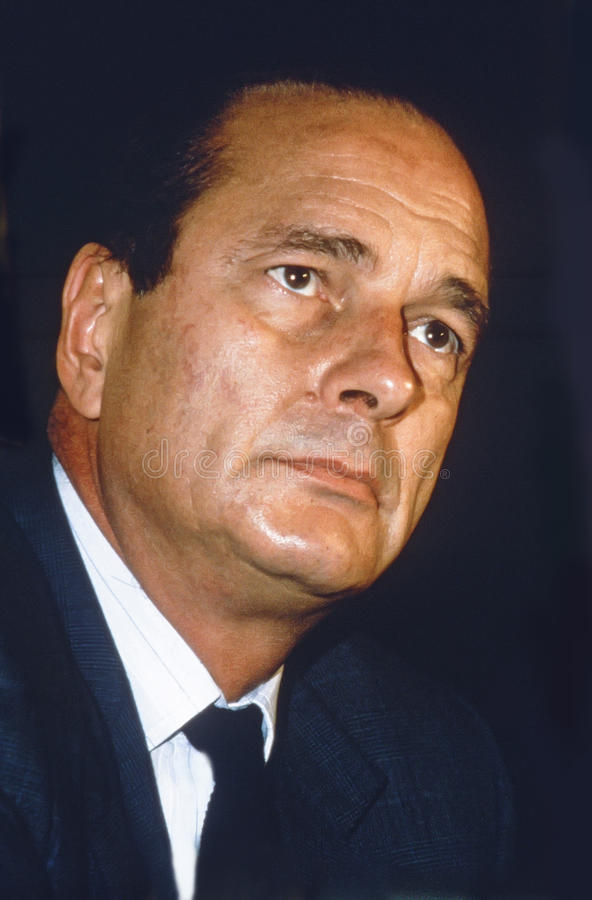 Free Jacques Chirac Stock Photo - 88850540