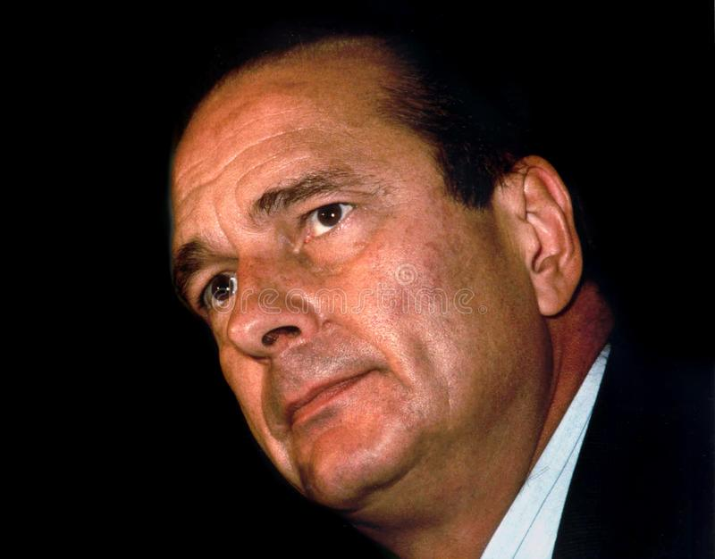 Jacques Chirac stock photo