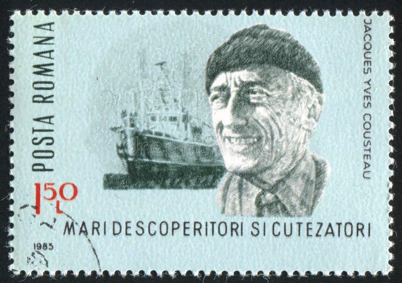 Jacques Cousteau imagenes de archivo