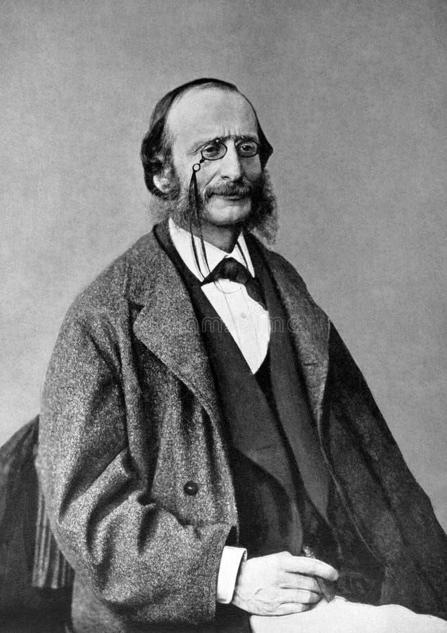 Jacques Offenbach royaltyfri foto
