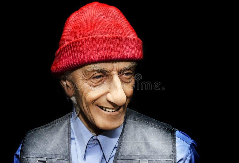 Jacques Yves Cousteau imágenes de archivo libres de regalías