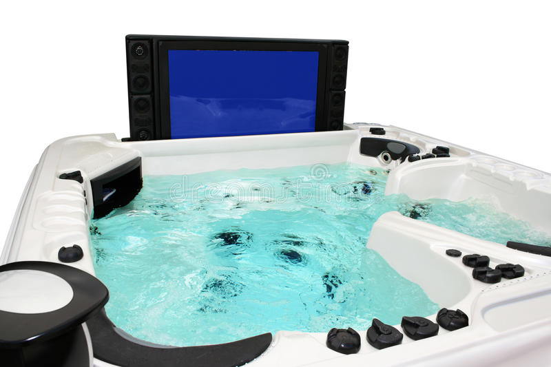 jacuzzi photo stock