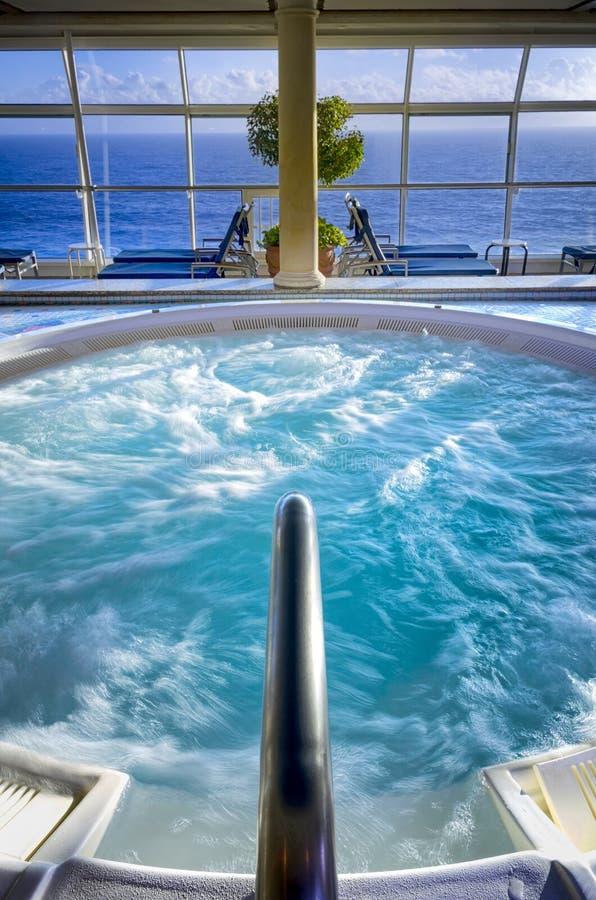 Jacuzzi de bateau de croisière photos stock