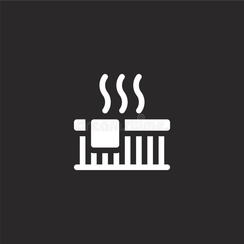 jacuzzi ikona Wypełniająca jacuzzi ikona dla strona internetowa projekta i wiszącej ozdoby, app rozwój jacuzzi ikona od wypełniaj ilustracja wektor