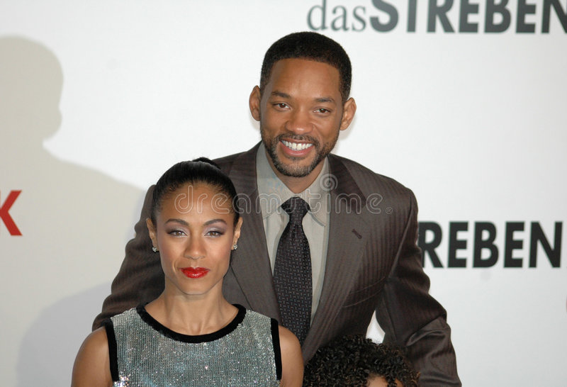 Jada Pinkett Smith, Will Smith image libre de droits