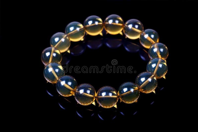 Jade bracelet royalty free stock photos
