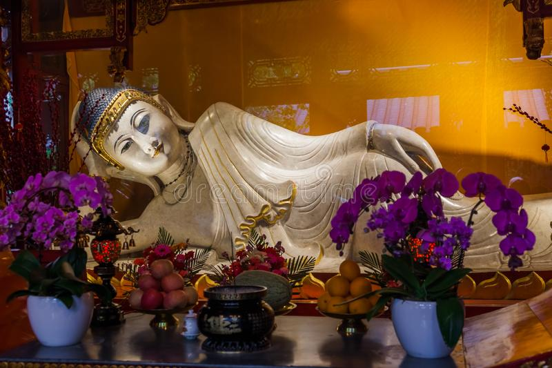 Jade Buddha Temple i Shanghai Kina arkivfoto