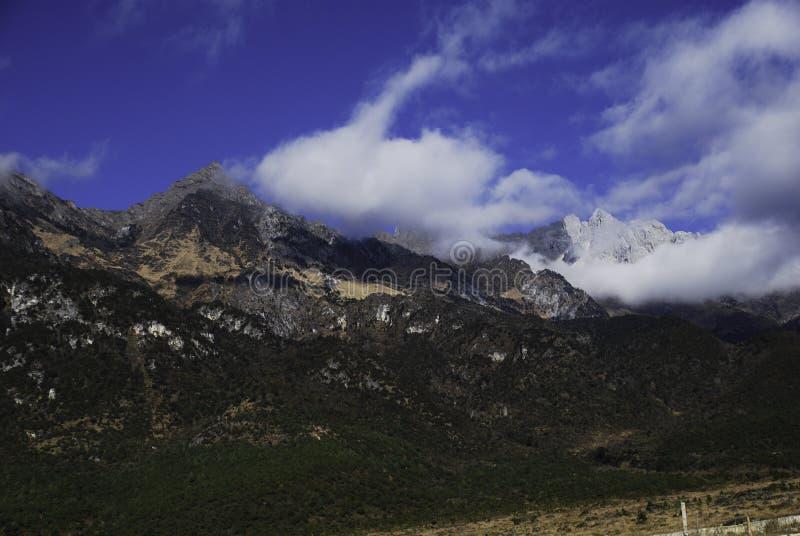 Jade Dragon Snow Mountain immagine stock libera da diritti