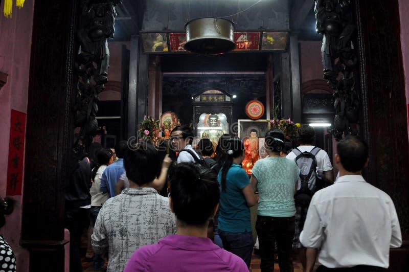 Jade Emperor Pagoda luft 2010, som august dånade flickor för framsida för ekonomi för chistadsårtionden har att ha för honivåer f royaltyfri bild
