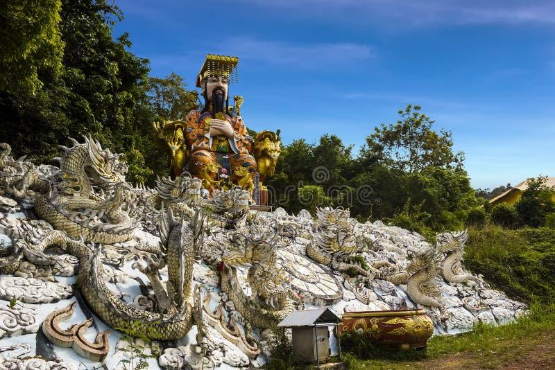 Jade Emperor staty arkivfoto