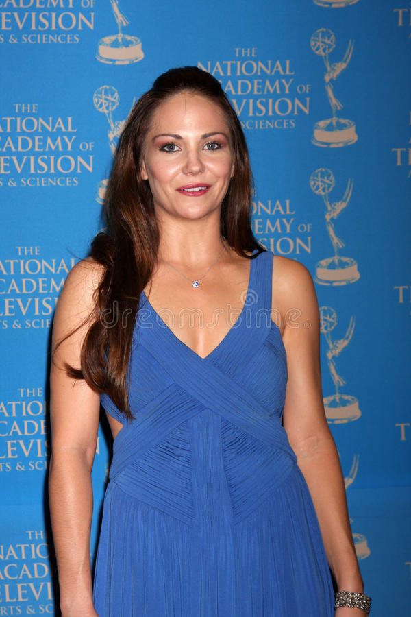Jade Harlow Arrives At The 2012 Daytime Creative Emmy Awards Editorial Stock Photo