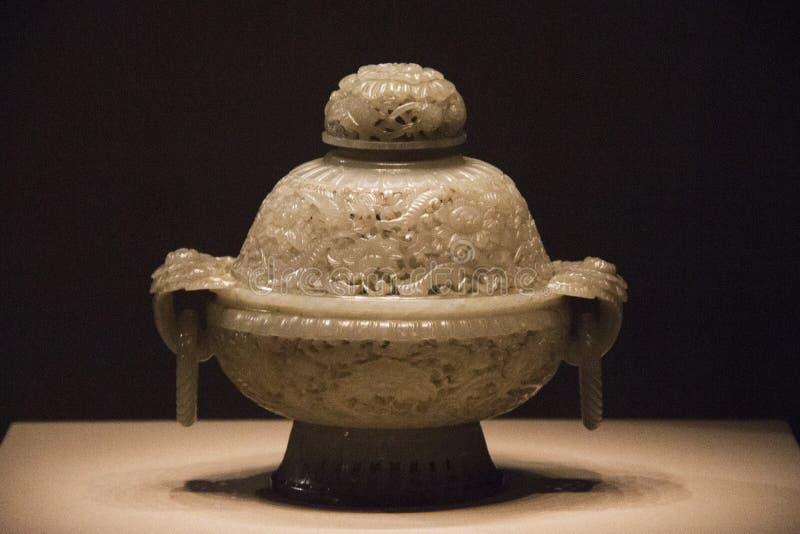 Jade incense burner, China royalty free stock photography