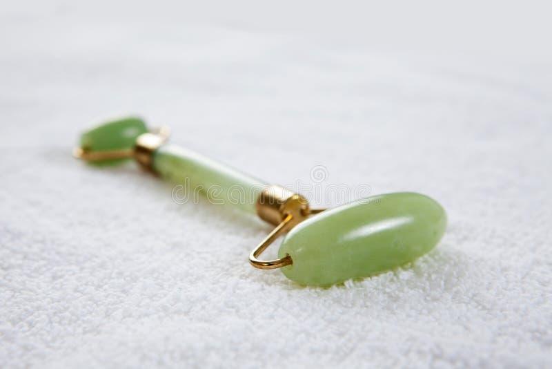 Jade Roller stock photo
