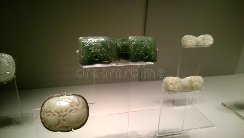 Jadeartikel royalty-vrije stock afbeelding