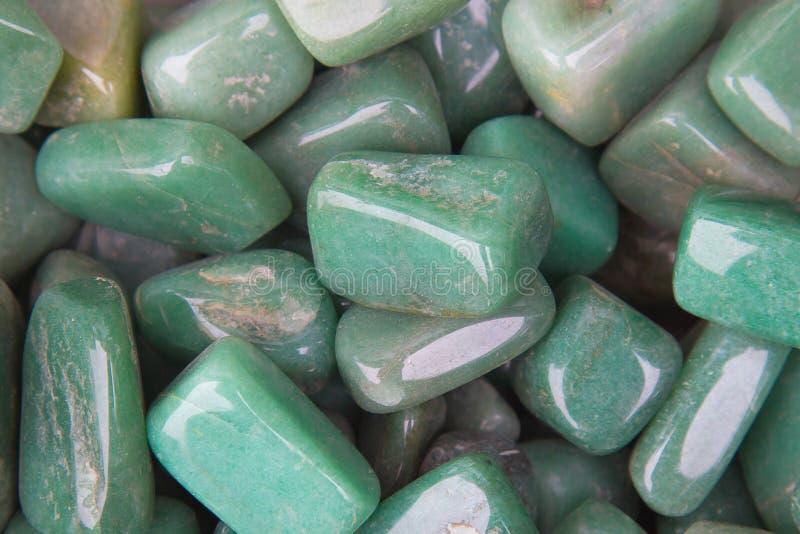 Jadeite mineral. Chrysoprase gemstone. Jadeite mineral, green mineral stock image