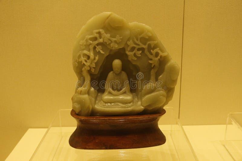 Jadeprydnaderna i det Shenyang slottmuseet, Kina royaltyfri fotografi