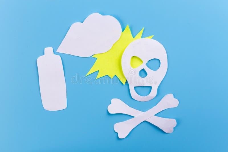 jadowity aerosol dla insekt?w zdjęcia stock