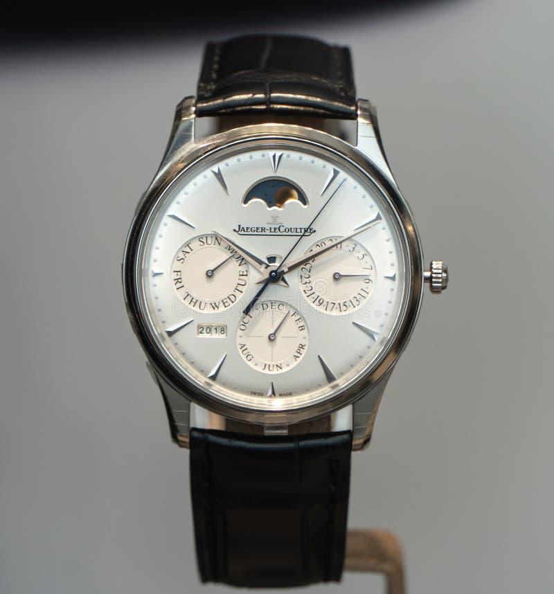 Jaeger LeCoultre-Uhr stockbild