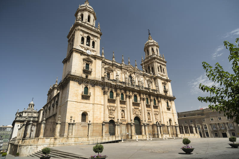 Jaen Andalucia, Spain: cathedral royalty free stock photos