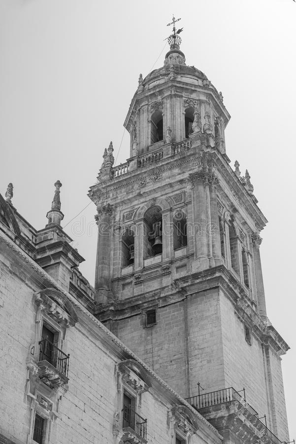 Jaen Andalucia, Spanje: kathedraal royalty-vrije stock afbeeldingen