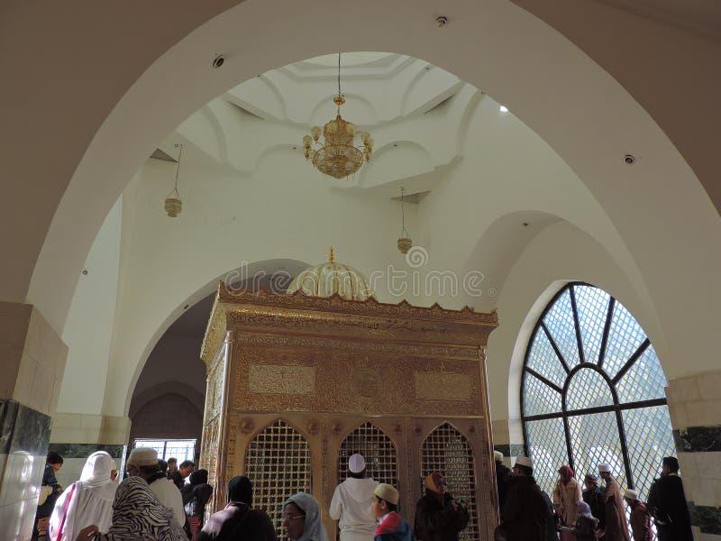 Jafar AlTayyar坟茔在约旦 库存照片