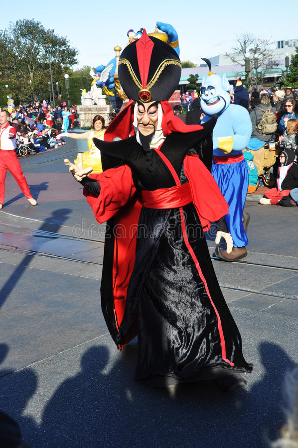 Download Jafar In A Dream Come True Celebrate Parade Editorial Stock Image - Image of fame, celebrate: 23114844