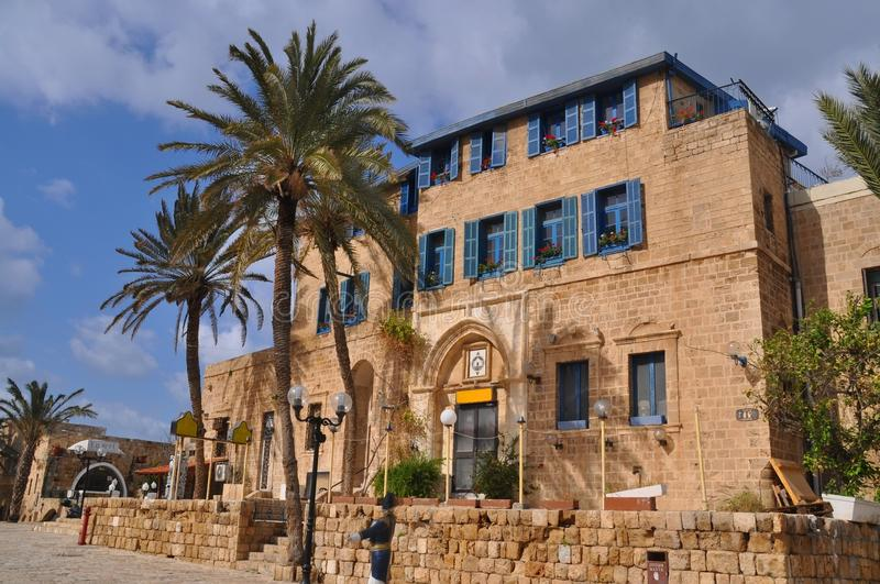 Jaffa. The centre of old city of Jaffa, Israel royalty free stock photo