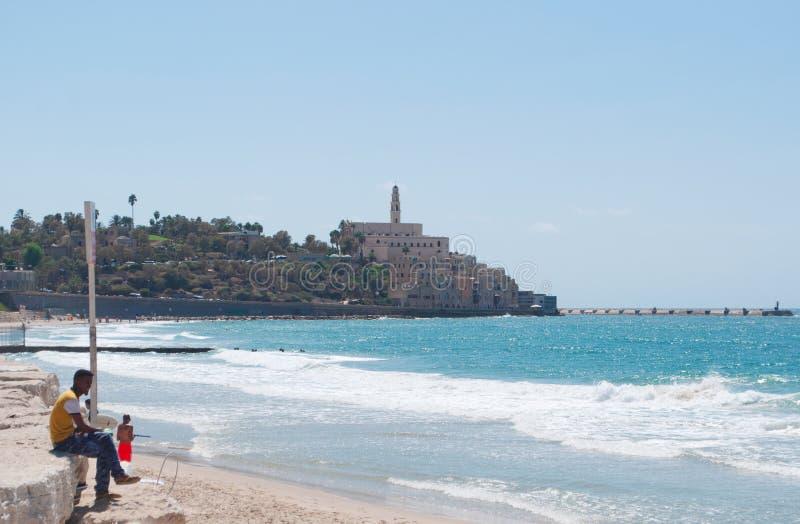 Jaffa, cidade velha, Israel, Médio Oriente imagem de stock