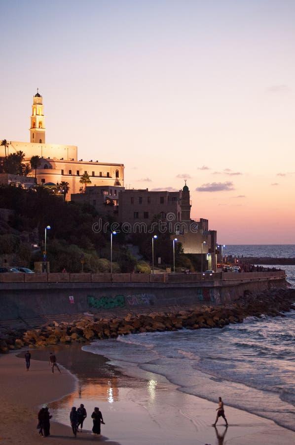 Jaffa, cidade velha, Israel, Médio Oriente imagem de stock royalty free