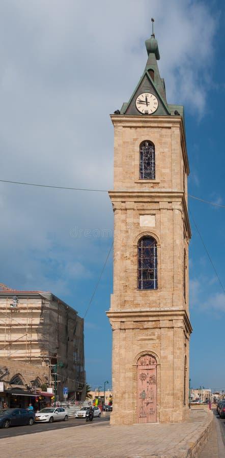 Jaffa clock square royalty free stock photography