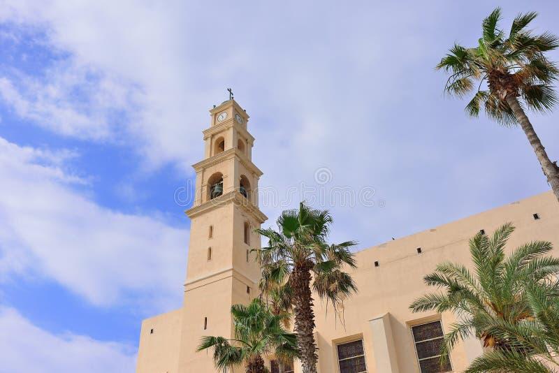 Jaffa est ville portuaire antique pensée être un de l'I le plus ancien photos stock